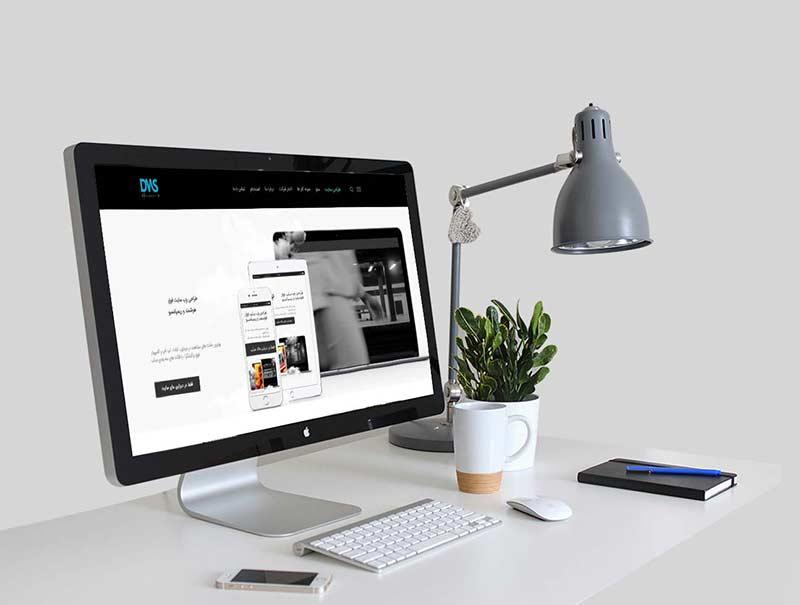 طراحی وب سایت شرکت تولیدی