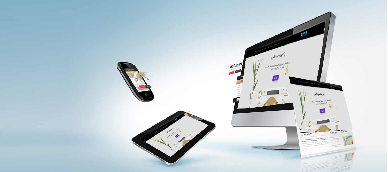 طراحی سایت یراق آلات